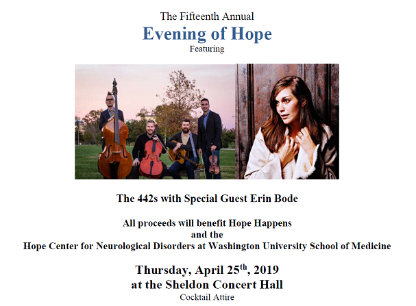 Save the Date – 2019 Evening of Hope | The Hope Center